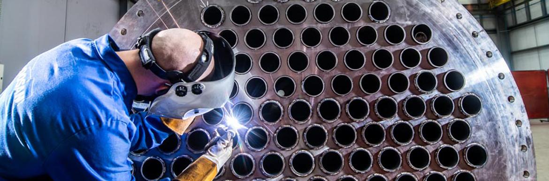 Servicing of industrial heat exchangers